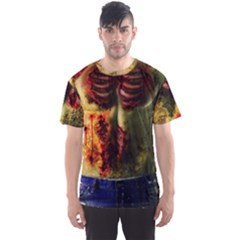 Faux Zombie Men Men s Sport Mesh Tee by CoolDesigns