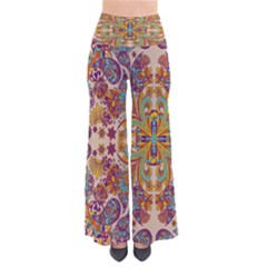 Beigebohemia Chic Palazzo Pants by CoolDesigns