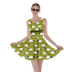 Olive Wolfs Dressed In Sheeps Skater Dress by CoolDesigns