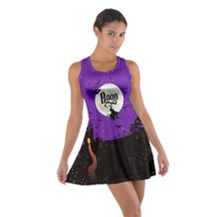 Purple Booo Cotton Racerback Dress