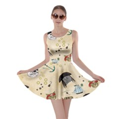 Cat Pirate Retro Skater Dress