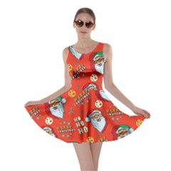 Red   Orange Santa Skater Dress by CoolDesigns