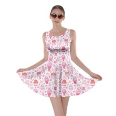 Ice2 Yummy Ice Cream Pattern Skater Dress