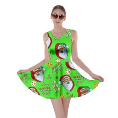Neon Santa Skater Dress by CoolDesigns
