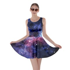 Pink Space Skater Dress by CoolDesigns
