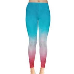 Sharp Gradient Tie Dye Leggings by CoolDesigns