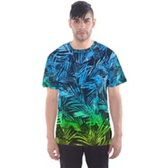 Hawaii Blue Palm Men s Sport Mesh Tee by CoolDesigns