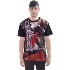 Faux Halloween Killer 2 Men s Sport Mesh Tee