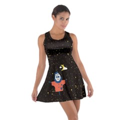 Horror Night Cotton Racerback Dress