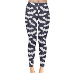Blue Bats Pattern Women s Leggings