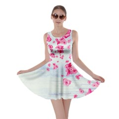Water Color Blossom Skater Dress by CoolDesigns