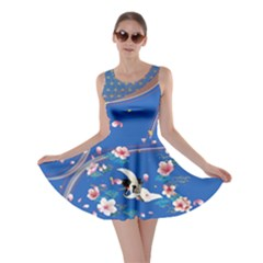 Crane Blue 2 Skater Dress by CoolDesigns