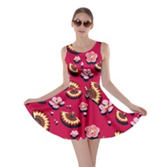 Blossom Red Skater Dress by CoolDesigns