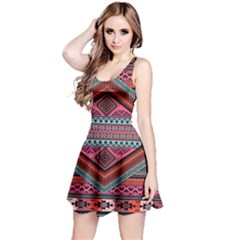 Pink Tribal Sleeveless Dress