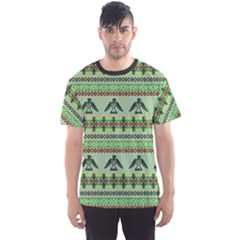 Mint Eagles Tribal Native American Men s Sport Mesh Tee by CoolDesigns