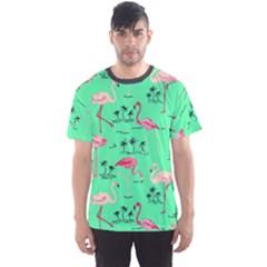 Neon Green Men s Sport Mesh Tee
