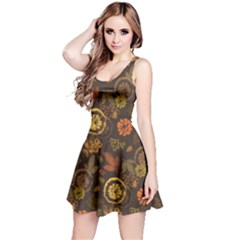 Dark Autumn Reversible Sleeveless Dress by CoolDesigns