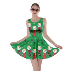 Green Socks Skater Dress by CoolDesigns