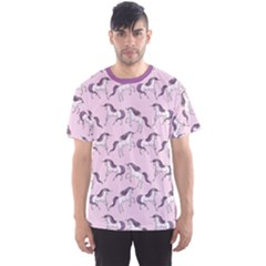 Purple Unicorn Seamless Men s Sport Mesh Tee by CoolDesigns