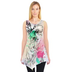 Colorful3 Sleeveless Tunic Top by CoolDesigns