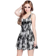Black Tie Dye 3 Sleeveless Dress by CoolDesigns