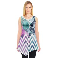 Colorful Sleeveless Tunic Top by CoolDesigns