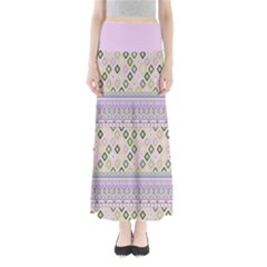 Violet Diamond Maxi Skirt by CoolDesigns