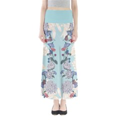 Light Floral Maxi Skirt by CoolDesigns