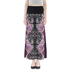 Dark Damask Maxi Skirt by CoolDesigns