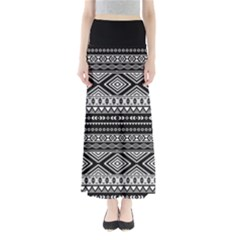 Dark Tribal Maxi Skirt by CoolDesigns