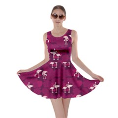 Flamingo Magenta Skater Dress by CoolDesigns
