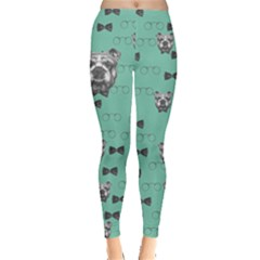 Mint Mr Dog Leggings