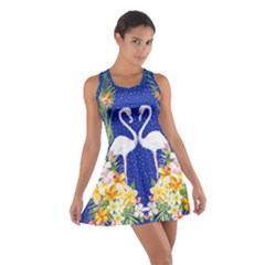 Hawaii Blue Cotton Racerback Dress by CoolDesigns