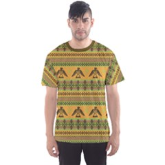 Yellow Eagles Tribal Native American Men s Sport Mesh Tee by CoolDesigns