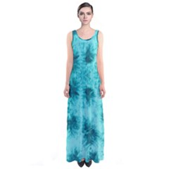 Mint Tie Dye Sleeveless Maxi Dress