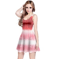 Red Stripes Sleeveless Dress by CoolDesigns