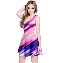 Pink & Purple Reversible Sleeveless Dress