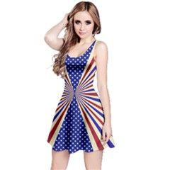 US Flag Reversible Sleeveless Dress by CoolDesigns