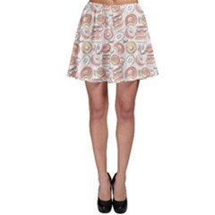 Pink Donut Pattern Skater Dress by CoolDesigns