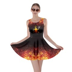 Skull Flame Skater Dress by CoolDesigns