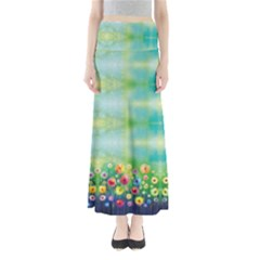 Colorful Garden Maxi Skirt