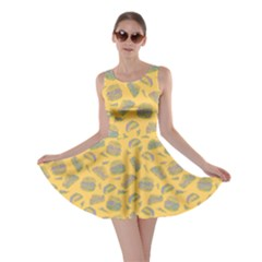 Yellow Hamburger Skater Dress by CoolDesigns