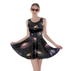 Planets Skater Dress by CoolDesigns