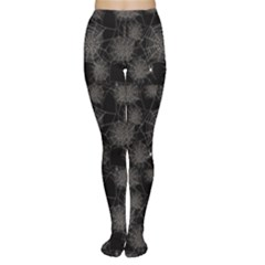 Black Web Spiders Pattern Tights