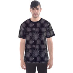 Black Web Spiders Pattern Men s Sport Mesh Tee by CoolDesigns