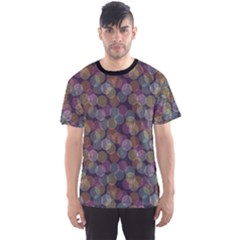Dark Abstract Pattern Wallpaper And Design Men s Sport Mesh Tee by CoolDesigns