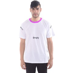 Purple Bright Pattern Made Precious Stones Men s Sport Mesh Tee by CoolDesigns