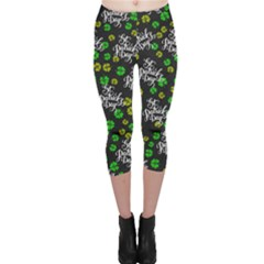 St Patricks Day Capri Leggings  by CoolDesigns