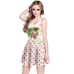 Strawberry Day Reversible Sleeveless Dress
