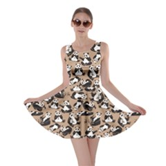 Mocha Panda Skater Dress by CoolDesigns